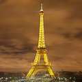 Eiffel Tower At Night Stock Images - 28572004