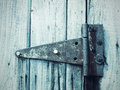 An Old Patterned Hinge Stock Photography - 28572252