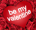 Be My Valentine Royalty Free Stock Photo - 28581735