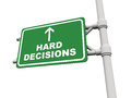 Hard Decisions Ahead Royalty Free Stock Photo - 28583005