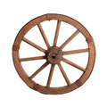 Old Wooden Wheel Royalty Free Stock Photo - 28598205