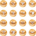 Computer And Internet Icons Royalty Free Stock Photos - 2862458