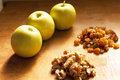 Apple Cake Ingredients Stock Images - 28603394