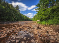 A Dry Riverbed Royalty Free Stock Photos - 28605358
