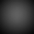 Seamless Circle Perforated Carbon Grill Texture Royalty Free Stock Photo - 28620265