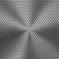 Seamless Circle Perforated Metal Grill Texture Royalty Free Stock Image - 28620296