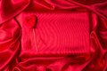 Background Of Red Silk Royalty Free Stock Photos - 28622598