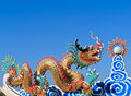 Chinese Dragon Sculpture Stock Image - 28624211