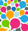 Colorful Funny Speech Bubbles Stock Photography - 28625802