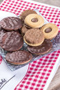Sandwich Biscuits Royalty Free Stock Photo - 28626275