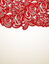Red Floral Background Royalty Free Stock Photos - 28637188