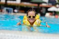 The Boy Bathes In Pool Stock Photography - 28645282