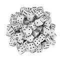 Sphere From White Dice Royalty Free Stock Photography - 28645467