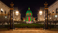 San Francisco City Hall During Christmas Royalty Free Stock Photos - 28648478