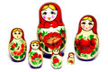 Russian Dolls Royalty Free Stock Photography - 28650907