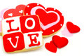 Valentines Day Cookies Royalty Free Stock Photo - 28651575