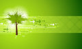 Abstract Green Tree Background Stock Photos - 28655813