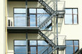Fire Escape Ladder Stock Photography - 28657262