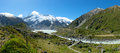 Beautiful Landscape Panorama View Of Mt.cook, South Island, New Stock Photos - 28669733