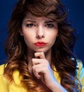 Expressive Portrait Royalty Free Stock Image - 28673546