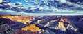 Panoramic View Of Grand Canyon With Morning Light Stock Photo - 28675290