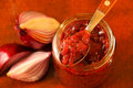 Red Onions Confit Royalty Free Stock Images - 28681599