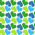 Jewel Hearts Pattern Seamless Background Royalty Free Stock Photos - 28692458