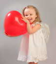 Red Heart Stock Image - 28699131