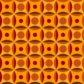 Seamless Pattern In Orange Colors Stock Image - 28700301