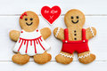 Gingerbread Couple Stock Images - 28701104