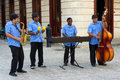 Traditional Music Group Playing In Old Havana Royalty Free Stock Photography - 28715277