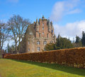 Castle Of Glamis In The Highlands. Royalty Free Stock Photography - 28725237