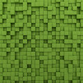Green Cubes Background Royalty Free Stock Photo - 28728975
