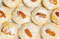 Cookies With Almond Nuts And Sugar Powder Royalty Free Stock Images - 28730369