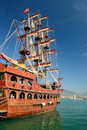 Sailing Vessel In The Turkish Port Royalty Free Stock Photography - 28730497