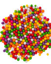 Color Dots Isolated Royalty Free Stock Photo - 28734015
