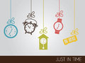 Clock Icons Stock Photography - 28741482