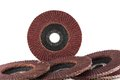 Abrasive Flap Discs. Royalty Free Stock Photos - 28742588