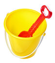 Toy Bucket And Scoop Stock Photos - 28752083