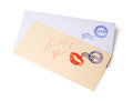 Blank Envelope And A Card Stock Photo - 28759530
