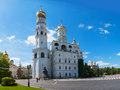 Ivan The Great Bell Tower At Moscow Kremlin Royalty Free Stock Photography - 28768107