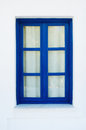 Blue Window Royalty Free Stock Photo - 28781865