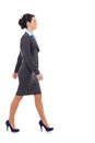 Side View Of A Business Woman Walking Royalty Free Stock Photo - 28782925