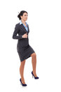 Business Woman Stepping Up Stock Image - 28782931
