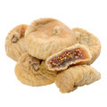 Dried Figs Isolated On White Background Stock Photography - 28783222