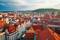Prague Houses Royalty Free Stock Photo - 28792685