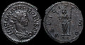 Ancient Roman Coin. Stock Photography - 28797342