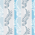 Light Blue Striped Foral Pattern Stock Images - 28801214