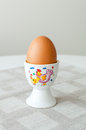 Egg In Egg Holder Royalty Free Stock Photo - 28805315