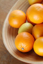 Citrus Fruits In A Bowl Royalty Free Stock Image - 28821386